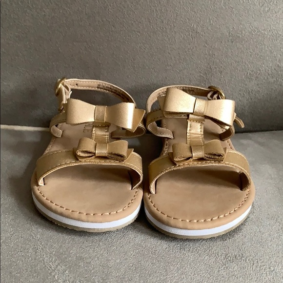 Children's Place Other - Toddler Children's Place Gold Sandals